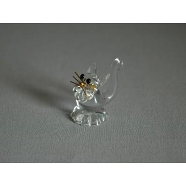 Kočka 901 crystal 2,5x3,5x3,5 cm