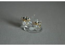 Kočka duo 902 crystal 4x2,5x3 cm