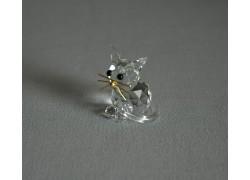 Kočka 904 crystal 2,5x3,5x3 cm