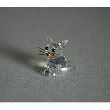 Kočka 904 AB 2,5x3,5x3 cm