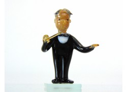 Hudební orchestr postava dirigenta 7,5 x 4,5 x 4,5 cm