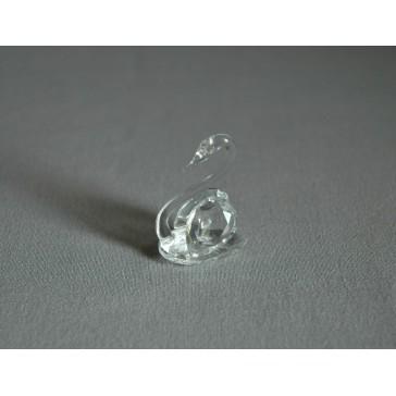 Labuť 1001 crystal 2x3,5x2,5 cm