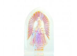 Pražské Jezulátko, Niňo Jesus, Plaketa 10x6x2,5 cm