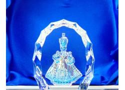 Pražské Jezulátko, Niňo Jesus Plaque 60x45x15mm