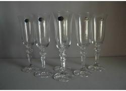Sklenice na šampaňské Christine 150ml set 6 ks