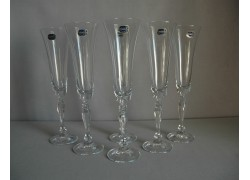 Sklenice na šampaňské Victoria 180ml set 6 ks