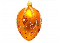 Fabergé vejce 2001 zlatý mat zdobený kameny
