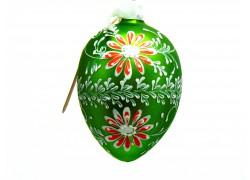 Velikonoční vejce 7003 zelené se sedmikráskou