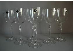 Sklenice na bílé víno Fleur 350ml set 6 ks