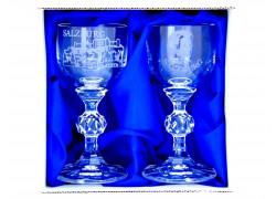 Dárkový set Salzburg Mozart se dvěmi skleničkami