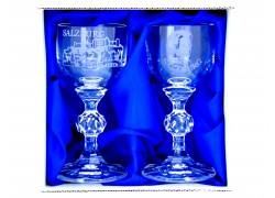 Giftbox Salzburg Mozart with two glasses