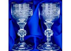 Dárkový set Salzburg se dvěmi skleničkami