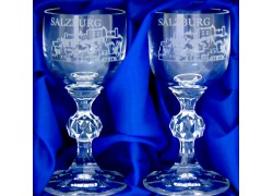 Giftbox Salzburg with two glasses