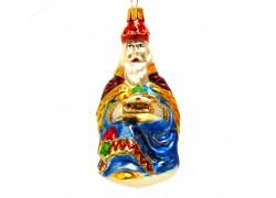 Christmas ornament Three Kings Caspar www.sklenenevyrobky.cz