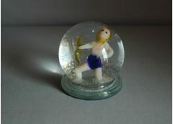 Snow globe 60mm Zodiac Sagittarius www.sklenenevyrobky.cz