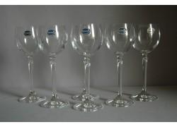 Sklenice na bílé víno Brigitta 150ml set 6 ks