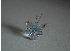 Motýl 952 modrý 5,5x3,5x7,5 cm