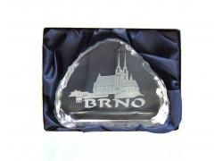 Plaque Brno 8,5x6,5 cm
