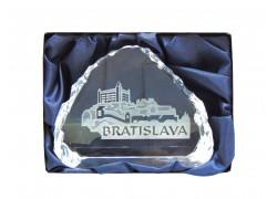 Plaketa Bratislava 8,5 x 6,5 cm