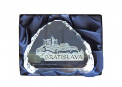 Plakette Bratislava 8,5 x 6,5 cm