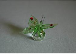 Motýl 952 zelený 5,5x3,5x7,5 cm