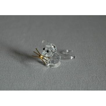 Myš 754 crystal 2x2x4,5 cm