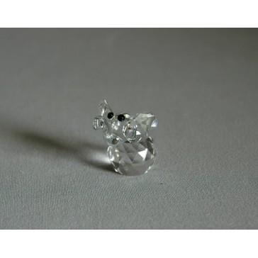 Slon 602 crystal 3x3x3,5 cm