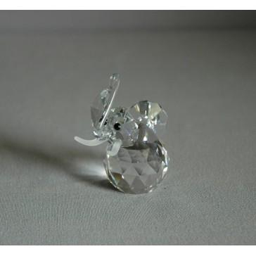Slon 604 crystal 4x6x5 cm