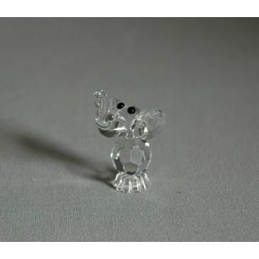 Slon 600 crystal 3x4,5x3 cm