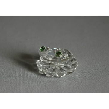 Žába 651 crystal 4x2x3,5 cm