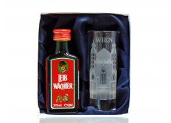Leib Wächter 0,04l Wien set se skleničkou