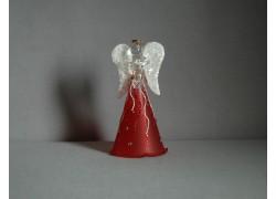 Skleněný anděl 9,5 cm 1. www.sklenenevyrobky.cz