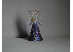 Glass angel 9,5 cm 2. www.sklenenevyrobky.cz