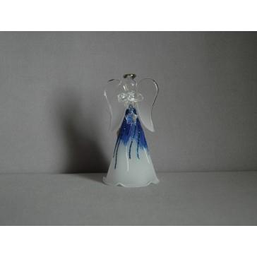 Skleněný anděl malý 9,5 cm 4.