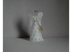 Skleněný anděl 9,5 cm 7. www.sklenenevyrobky.cz