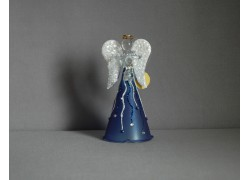 Skleněný anděl 9,5 cm 8. www.sklenenevyrobky.cz