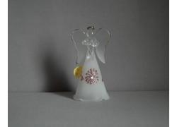 Glass angel 9,5 cm 9. www.sklenenevyrobky.cz