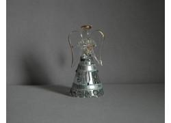 Glass angel 9,5 cm 10. www.sklenenevyrobky.cz