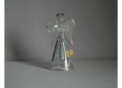 Skleněný anděl 9,5 cm 11. www.sklenenevyrobky.cz