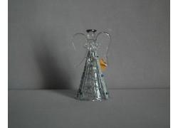 Glass angel 9,5 cm 18. www.sklenenevyrobky.cz