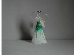 Glass angel 11 cm 6. www.sklenenevyrobky.cz