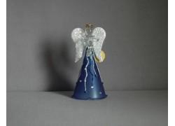 Skleněný anděl 11 cm 8.