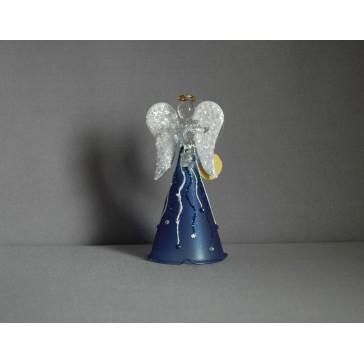 Skleněný anděl střední 11 cm 8.