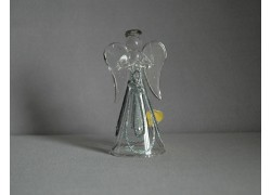 Sklenený anjel 11 cm 11.
