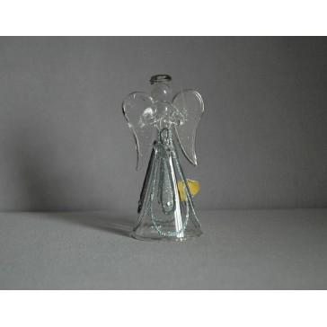 Skleněný anděl střední 11 cm 11.