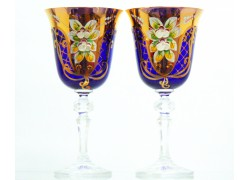Glass Christine 170ml for wine 2pcs enamelled