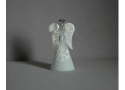 Skleněný anděl 11 cm 13.