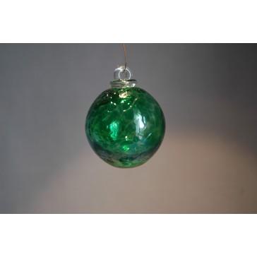 Závěsná koule z hutního skla 6 cm