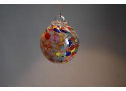 Glass balls 6cm colored www.sklenenevyrobky.cz