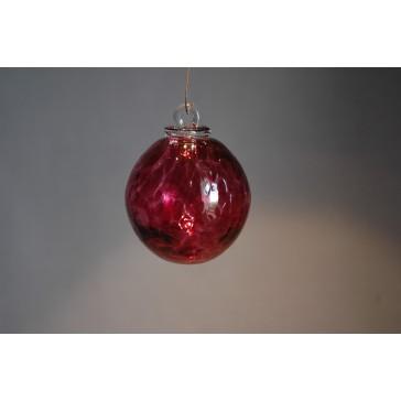 Závěsná koule z hutního skla 6 cm 6.